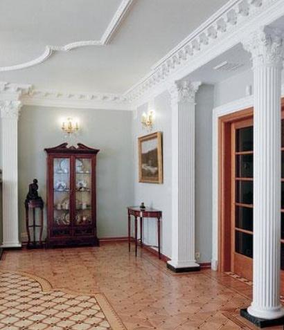 колонны в интерьере квартиры фото
